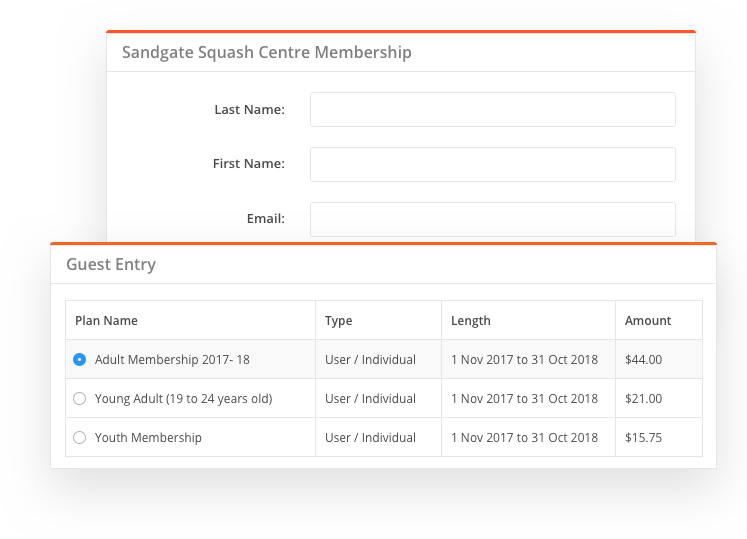 sportyHQ Collect membership fees